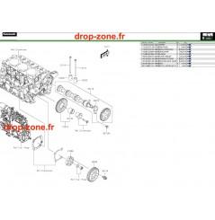 Soupapes/ Arbre à cames Pro DX 16-20