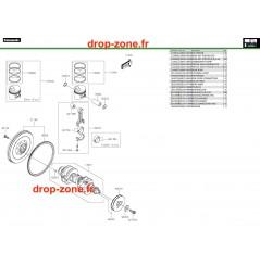 Vilebrequin/ Pistons Pro DX 16-20
