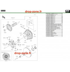 Variateur primaire/ courroie Pro DX 16-20