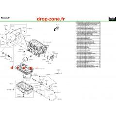 Carter inférieur/ filtre à huile Pro DX 16-20