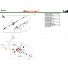 Arbre de transmission avant Pro DX 16-20