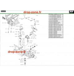 Supports moteur Pro DX 16-20