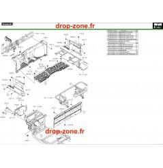 Pièces de cadre avant Pro DX 16-20