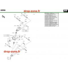 Amortisseurs avant Pro DX 16-20