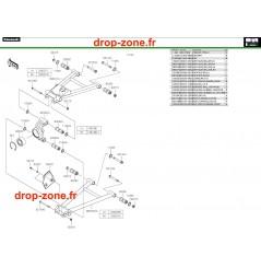 Suspensions arrière Pro DX 16-20