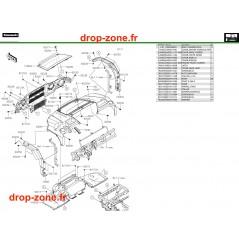 Gardes boue avant Pro DX 16-20