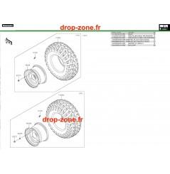 Roues Pro DX 16-20