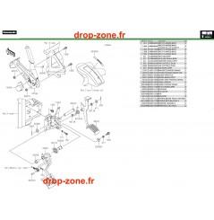 Pédale de frein Pro DX 16-20