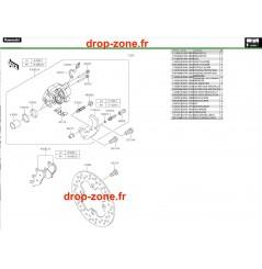 Freins avant Pro DX 16-20