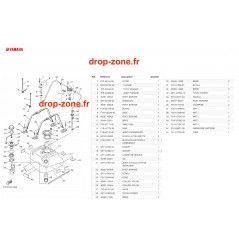 Réservoir EX 19/ EX Deluxe 19/ EX Sport 19/ EXR 19