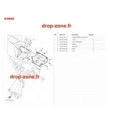 Cache guidon EX 19-20/ EX Sport 19-20(Blanc)