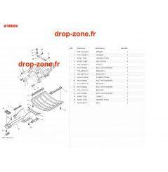 Plaque/ Ecope FX HO 19-20/ FX HO Cruiser 19-20