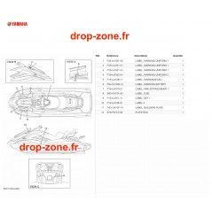 Labels de sécurité FX HO Cruiser 19/ FX SVHO Cruiser 19
