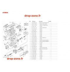 Kits réparation FX SVHO Cruiser 19/ FX SVHO 19