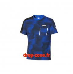 T-shirt Paddock Blue camouflage pour homme Yamaha