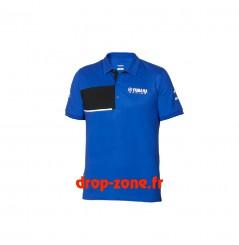 Polo piqué Paddock Blue pour homme Yamaha