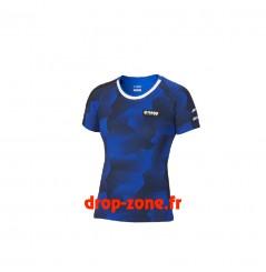 T-shirt camouflage Paddock Blue pour femme Yamaha