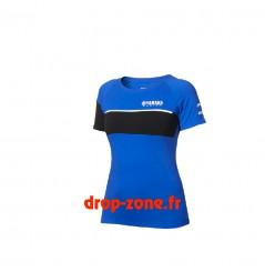 T-shirt Paddock Blue pour femme Yamaha