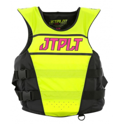 GILET JETPILOT MATRIX RACE NYLON YELLOW/PINK WOMEN