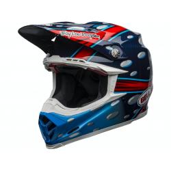 Casque BELL Moto-9 Flex McGrath Replica Gloss Blue/Red/Black