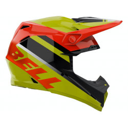 Casque BELL Moto-9 Mips Prophecy Gloss Yellow/Orange/Black