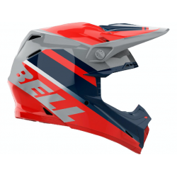 Casque BELL Moto-9 Mips Prophecy Gloss Infrared/Navy/Gray