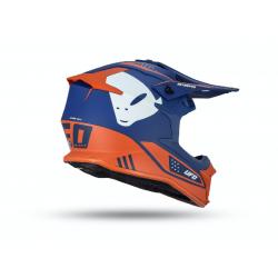 Casque UFO Intrepid bleu/orange fluo