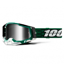 Masque Cross 100% The Racecraft 2.0 Milori Iridium Argent