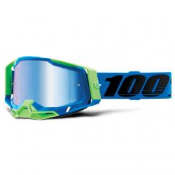 Masque Cross 100% The Racecraft 2.0 Fremont Iridium Bleu