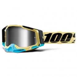 Masque Cross 100% The Racecraft 2.0 Airblast Iridium Argent