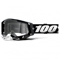Masque Cross 100% Racecraft 2.0 Noir Clair