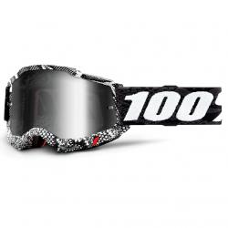 Masque Cross 100% Accuri 2.0 Cobra Iridium Argent