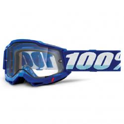 Masque Cross 100% Accuri 2.0 Enduro Bleu Clair