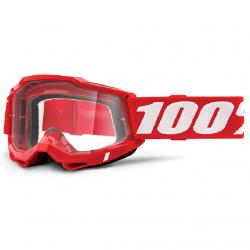 Masque Cross 100% Accuri 2.0 Rouge Clair