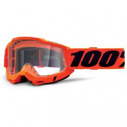 Masque Cross 100% Accuri 2.0 Orange Clair