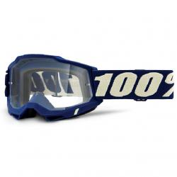 Masque Cross 100% Accuri 2.0 Deepmarine Clair
