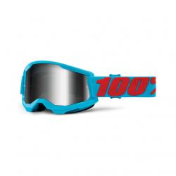 Masque Cross 100% Strata 2.0 Summit Iridium Argent
