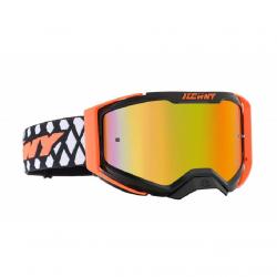 Masque Cross KENNY Performance Level 2 Noir Neon Orange