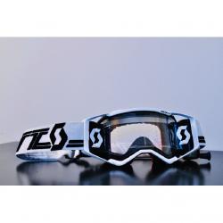 Masque Cross SCOTT Prospect Super WFS Blanc Noir Works 21