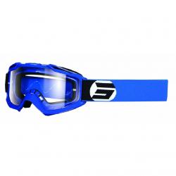 Masque Cross SHOT Assault Symbol Bleu