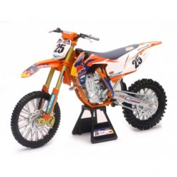 Miniature 450 SXF Marvin Musquin Red Bull 1/6 ème NEW RAY