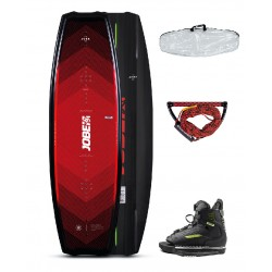 JOBE LOGO WAKEBOARD 138 & CHAUSSES UNIT PACKAGE
