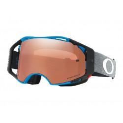 Masque OAKLEY Airbrake MTB Minnar SIG Distress Blue écran Prizm MX Black Iridium