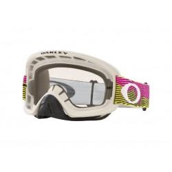 Masque OAKLEY O Frame 2.0 Pro MX Rut City Pink Green écran clair