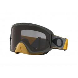 Masque OAKLEY O Frame 2.0 Pro MX Tuff Blocks Gunmetal Gold écran Dark Grey