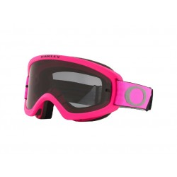 Masque OAKLEY O Frame 2.0 Pro XS MX Tuff Blocks Pink Gunmetal écran Dark Grey