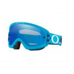 Masque OAKLEY O Frame 2.0 Pro XS MX Troy Lee Design Checkerboard Blue écran Black Ice Iridium