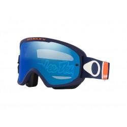 Masque OAKLEY O Frame 2.0 Pro MTB Troy Lee Design Patriot RWB écran Black Ice Iridium