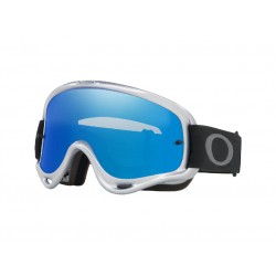 Masque OAKLEY O Frame MX Silver Chrome écran Black Ice Iridium & clair
