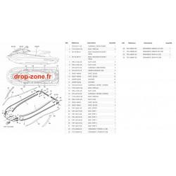 Tapis/ Listons GP 1800 18